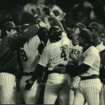 Paul Molitor 39 game hitting streak halted - longest AL streak since Joe DiMaggio