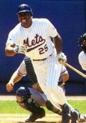 The New York Mets sign free agent outfielder Bobby Bonilla to a five-year, $29 million contract.