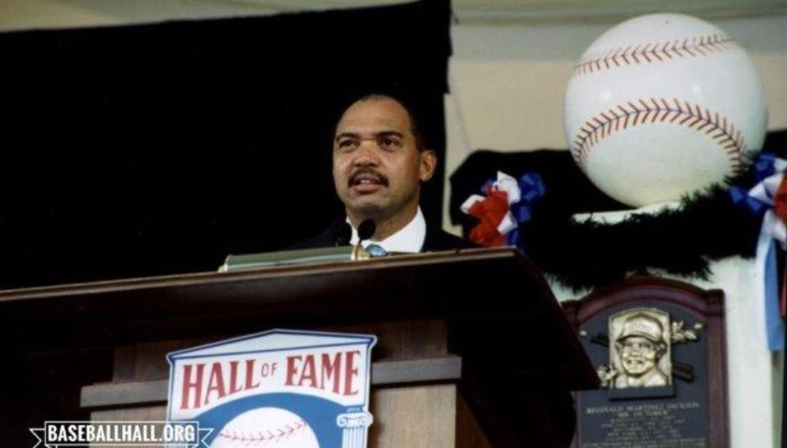 Reggie Jacksonis the lone playerelectedby theBaseball Writers Association of Americato theHall of Fame