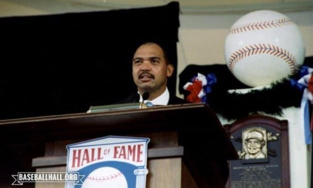Reggie Jackson is the lone player elected by the Baseball Writers Association of America to the Hall of Fame