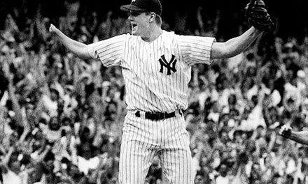 Jim Abbott of the New York Yankees throws a 4-0 no-hitter against the Cleveland Indians