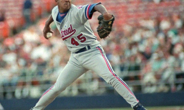 Pedro Martinez of the Montreal Expos breaks the stranglehold the veteran Greg Maddux and the Atlanta Braves have on the National League Cy Young Award. Since 1991, either Maddux or a Braves pitcher has captured the award. Martinez posted a 17-8 record with 305 strikeouts, a 1.90 ERA, and 13 complete games, giving Canada a clean sweep of the Cy Young this year. Roger Clemens of the Toronto Blue Jays won the American League award a day earlier. It's a bittersweet moment for Montreal, as Martinez will be traded away a week later.