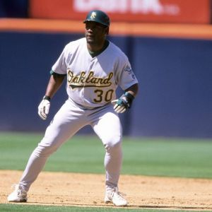Tim Raines Oakland