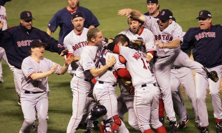 The Red Sox exorcised 86 years of agonizing losses by winning their first World Series since 1918