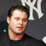 """In his first public appearance since allegations of usage ofperformance-enhancing drugssurfaced,New York Yankeesfirst basemanJason Giambiapologizes to his teammates, Yankees fans and to baseball fans everywhere for letting them down last season. TheAll-Starfirst baseman, however, never uses the wordsteroidsas he """"accepts full responsibility for the controversy."""""""