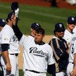 Trevor Hoffman of the Padres sets an all-time record when he records his 479th save