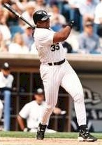Frank Thomas became the 21st player to reach the 500-homer mark