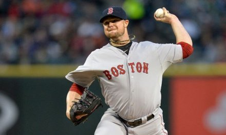 Jon Lester starts and earns the victory to clinch the World Series for Red Sox