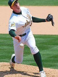 Oakland pitcher Brad Zeigler pitched two innings of scoreless relief to set a record for the most scoreless innings to begin a major league career