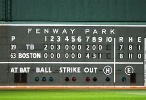 The Red Sox stage biggest comeback since 1929 as JD Drew delivers a walkoff single