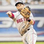 Dustin Pedroia turned five double plays to tie Red Sox franchise record