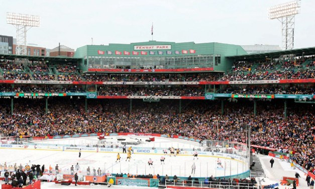 Hockey At Fenway Park – Bruins vs Flyers