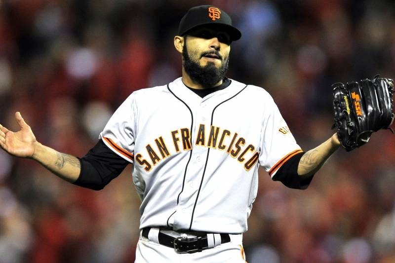 World Series hero Sergio Romo is detained by authorities in Las Vegas, NV