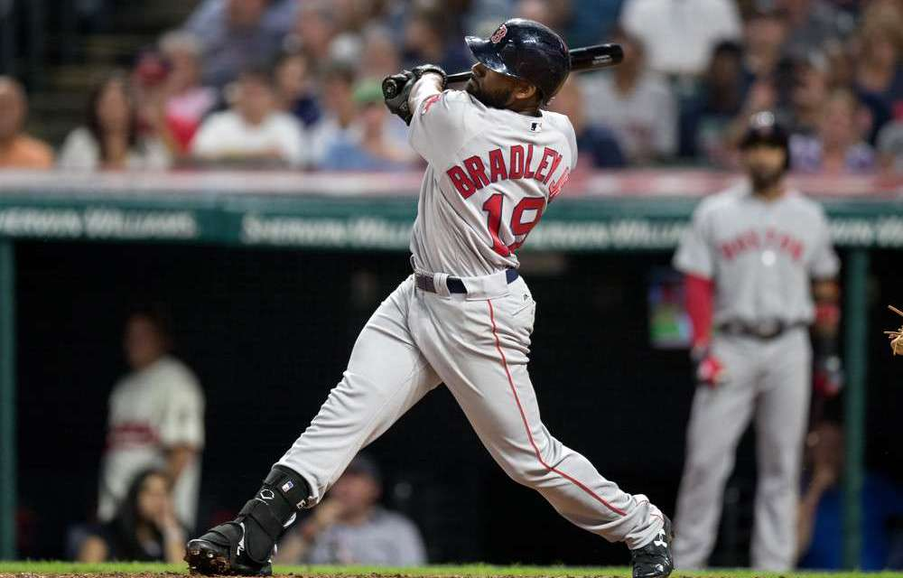 """On Opening Day Jackie Bradley Jr.  becomes the first major leaguer to wear """"Jr."""" on the back of his jersey"""