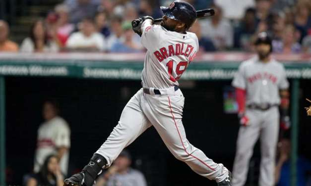"On Opening Day Jackie Bradley Jr.  becomes the first major leaguer to wear ""Jr."" on the back of his jersey"