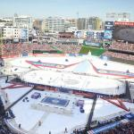 The Washington Capital's host the annual National Hockey League Winter Classic vs Blackhawks