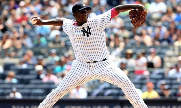 Michael Pineda of the Yankees strikes out a career-high 16 he tied for second-most in Yankees history