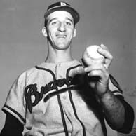 Warren Spahn becomes the 13th major leaguer to win 300 games
