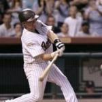 Craig Biggio of the Astros collects his 3,000th career hit