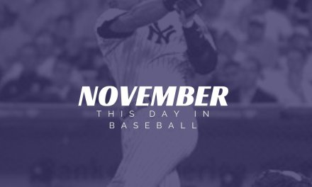This Day In Baseball November