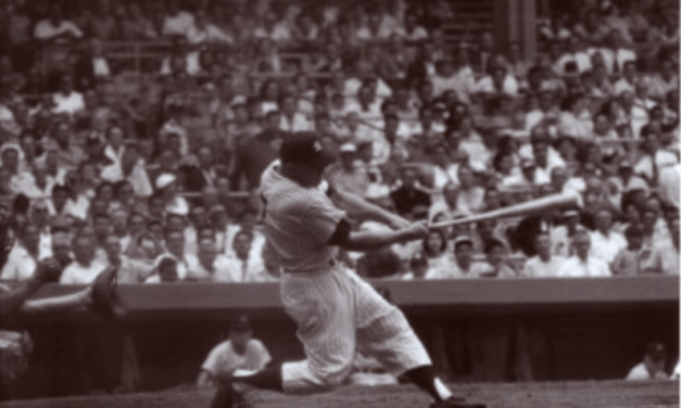 Mickey Mantle of the New York Yankees joins the 500-home run club