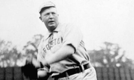 Boston Red Sox ace Cy Young pitches the third no-hitter of his career when he shuts down the New York Highlanders, 8-0.