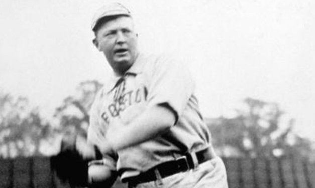 Boston ace Cy Young hurls a perfect game against the Philadelphia Athletics