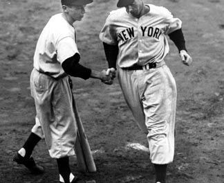 Joe DiMaggio makes his major league debut.