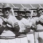 Oakland A's win their second consecutive World Championship