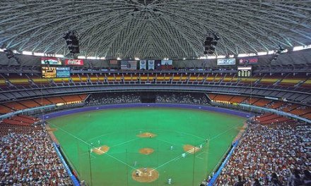 First Rainout in Astrodome History