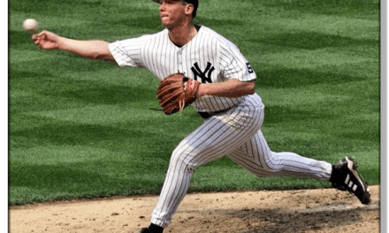 David Cone pitches 7 innings of no hit ball in his return