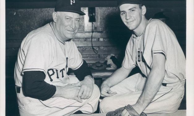 Dick Groat of the Pittsburgh Pirates is named the 1960 National League's Most Valuable Player