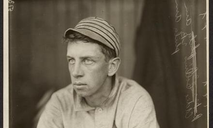 Umpire Tim Hurst instigates a riot by spitting in the face of  Eddie Collins