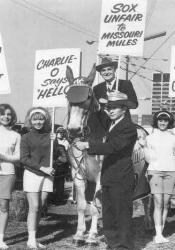 Charlie Finley sells the Oakland A's to the Levi Strauss company for nearly $13 million