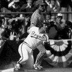 George Brett of the Kansas City Royals goes 4-for-4 to reach the 3,000-hit plateau