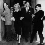 Joe DiMaggio marries Marilyn Monroe
