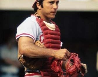 Johnny Bench wins the 1970 National League's MVP Award