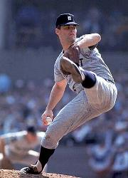 Pitcher Denny McLain is the unanimous choice as American League Most Valuable Player