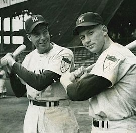 Joe DiMaggio and Mickey Mantle added to monument park