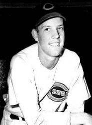 Joe Nuxhall signs a professional contract with the Cincinnati Reds