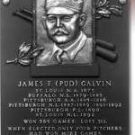 Pitcher Pud Galvin is chosen for Hall of Fame induction by the Special Veterans Committee. Galvin had 20 victories in 10 out of 14 seasons and won 46 games in both 1883 and 1884 for the Buffalo Bisons of the National League.