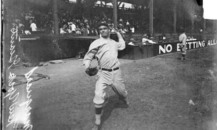 New York Giants pitcher Rube Marquard sets a modern day record by winning his 19th consecutive game