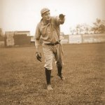 Rube Waddell beats the Whitesox 2-1 leading the A's into first place