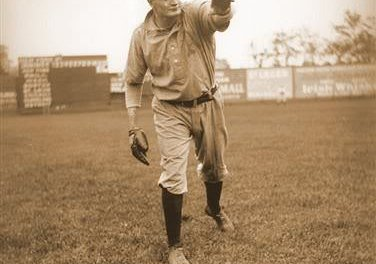 En route to a 2-0 victory over Baltimore, left-handed hurler Rube Wadell, playing in his first game for Connie Mack's A's, faces the minimum 27 batters, striking out 13 in the Oriole Park contest. In the sixth frame, the 25 year-old Philadelphia southpaw becomes the first American League pitcher to toss an immaculate inning when he fans Billy Gilbert, Harry Howell, and Jack Cronin on nine consecutive pitches.