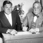 Yankee owner Jacob Ruppert buys the International League's Newark franchise. The Bears will be very successful, sending many players to the Bronx which include Charlie Keller, Joe Gordon, and Spud Chandler.