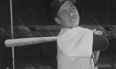 Al Kaline makes his major league debut for the Detroit Tigers