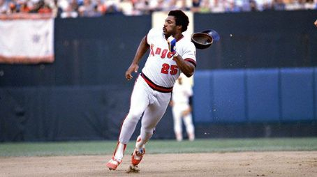 Don Baylor of the California Angels wins the American League's Most Valuable Player Award