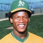 Rickey Henderson debuts with A's and picks up 2 hits and a stolen base