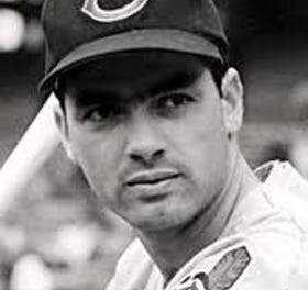 Rocky Colavito of the Cleveland Indians homers in four consecutive at-bats against the Baltimore Orioles