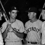 Homers by Leon Wagner, Pete Runnels and Rocky Colavito power the American League past the National League, 9 - 4, in the second All-Star Game of 1962.